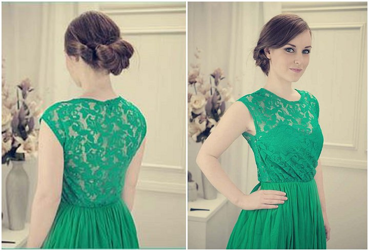 Knotted Up Do with Side Know tutorial 2